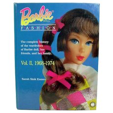 OOP, Mattel BARBIE Doll Fashion VOL. II 1968-1974 BOOK Sarah Sink Eames