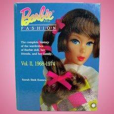 OOP, Mattel BARBIE Doll Fashion VOL. II 1968-1974 BOOK Sarah Sink Eames