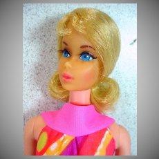 Mattel 1971 Blond TNT Barbie, Mint!