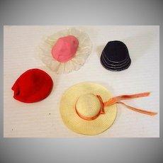 Vintage Mattel Skipper Hats 'N Hats Set, 1965