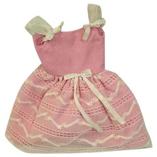 Vintage Mattel Skipper Outfit, Party Pink, 1965