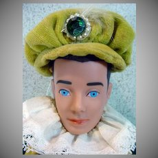"Vintage Molded Hair Ken in ""The Prince"", Mattel 1964"