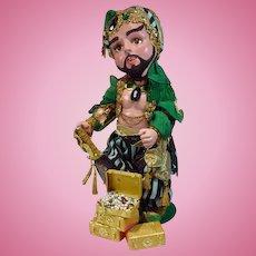 Amazing Ali-Baba Artist Doll,1993