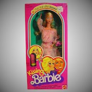 Mattel NRFB Kissing Barbie Doll 1979