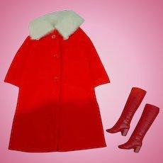 Vintage Mattel Barbie Outfit, Cold Snap, 1971