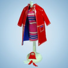Mattel Barbie Outfit, Fashion Shiner, complete, from 1967!