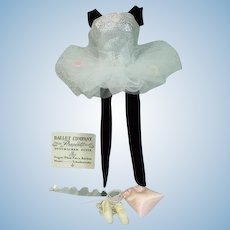 Vintage, Mattel, Barbie Outfit, Ballerina,  from 1961, Complete!
