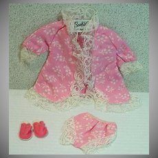 Vintage Mattel Barbie Outfit, Dream Wrap, 1969