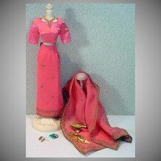 Vintage Mattel Barbie Outfit, Arabian Nights, 1964