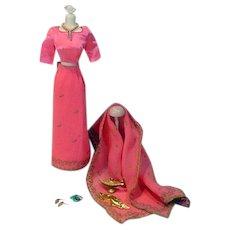 Vintage Mattel Barbie Outfit, Arabian Nights, 1964