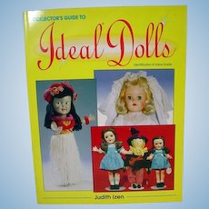 Collector's Guide To Ideal Dolls Book, J. Izen, 1994 OOP