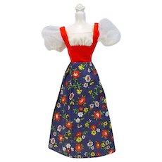 Vintage Mattel Barbie Best Buy Dress from 1974