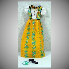Vintage Mattel Francie Outfit, Pretty Frilly, 1972