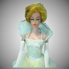 Mattel Fashion Queen Barbie Doll in Cinderella, 1964