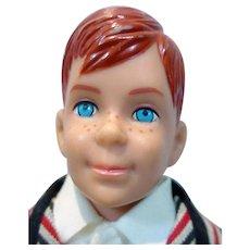 Vintage Mattel Ricky Doll in Sunday Suit, 1965