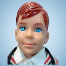 Vintage Mattel Ricky Doll in Sunday Suit, 1965