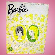 Vintage Mattel Barbie Magazine, March-April Issue, 1963