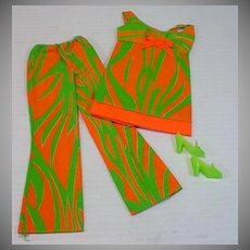 Vintage Mattel Barbie Outfit, Two Way TIger, 1971