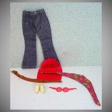 Vintage Mattel Barbie Outfit, Good Sports, 1972