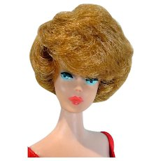 Vintage Mattel 1963 Bubble Cut Barbie with Titian Hair& Coral Lips