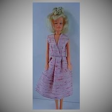 1969 Palitoy Tressy Doll with Platinum Blond Hair, 2nd Version.
