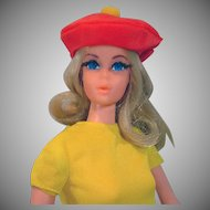 Vintage Mattel Live Action Barbie in 1970's Mod Outfit, 1971