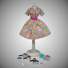 Vintage Mattel Barbie Outfit, Barbie Learns To Cook, 1965