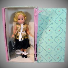 "Madame Alexander 10"" 1920 Golden Girl Cissette, MIB, 1999"