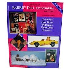 OOP Treasury of Barbie Doll Accessoires, 1961-1995 Book, Rupp