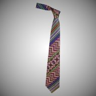 Beautiful Vintage Gianni Versace Men's Tie, 1980's