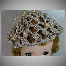 1950's Madame Alexander Cissy Size Hat, Unusual!