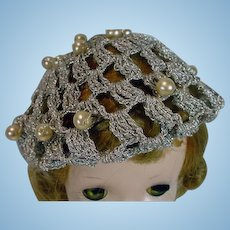 1950's Madame Alexander Cissy Size Hat, Unusual!