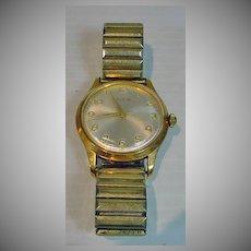 Vintage Men's Elgin Watch, 1960's Wind-Up Works!