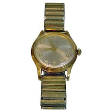 Vintage Men's Elgin Watch, 1960's Wind-Up Works!