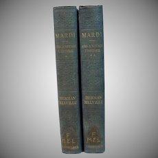 Herman Melville Mardi, Vol. 1&2, Constable&Company LTD, 1922