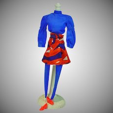 Vintage Mattel Barbie Outfit, All American Girl, 1972