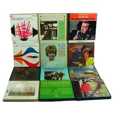 Collection of Vintage Reel to Reel Stereo Tapes, 1960's