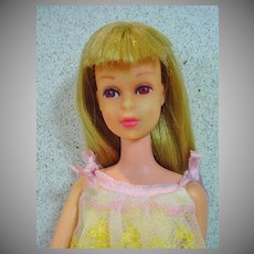 Mattel S/L Blond Francie Doll in Slumber Number, 1966-67