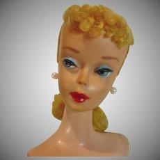 Mattel 1961 Blond #4 Pony Tail, Barbie