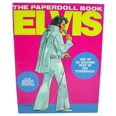1982 Elvis Paperdoll Book, St. Martin's Press