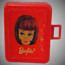 Mattel Miniature Barbie Doll Case for Tutti, 1967