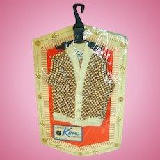Vintage 1963 Mattel Ken Pack Sweater, NRFP