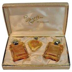 Vintage 1950's Evyan Surprise Gift Set, Perfume/Cologne, Un-used!