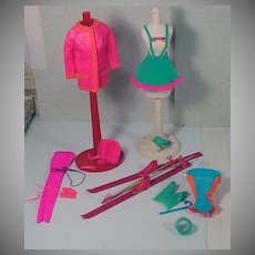 Vintage Mattel Barbie Action Accents Gift Set Outfit, Sears Exclusive, 1970