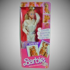 NRFB Mattel Super Hair Barbie, 1986