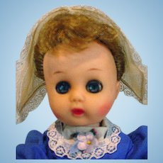 Vintage Cosmopolitan Ginger Doll, 1956 as Dutch Girl