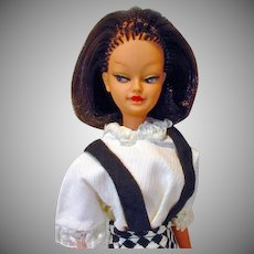 """Rare 10 1/2"""" Fashion Doll, Willy Wildebras, Lilli's Friend Look-a-Like, 1964, Netherlands"""