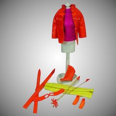 Vintage Mattel Barbie Outfit, The Ski Scene, 1970