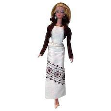 Mattel Silkstone Barbie in Randall Craig Ensemble