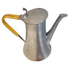 Hard to Find, Zeister, Mid Century Modern, Pewter, Coffee/Tea Set